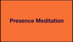 Orange 4 - Presence Meditation; Embracing the End of Life - Part II A Journey to Freedom